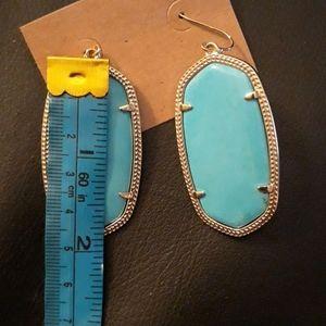 Kendra Scott Jewelry - Kendra Scott large Turquoise earrings